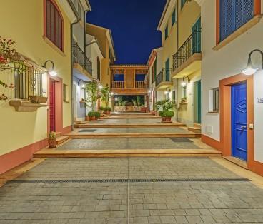3-Schlafzimmer-Apartment mit Terrasse und Sonnenterrasse in Portocolom